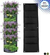 Grote Plantenmuur | Verticale Plantenzakken | Hangende Tuin | Hangende Moestuin | Groene Muur | Plantentassen | Zwart