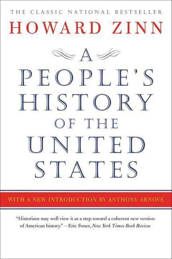 Boek cover A Peoples History of the United States van Howard Zinn (Paperback)