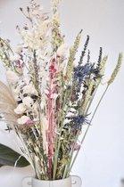 Droogbloemen boeket 70 cm  White   Dried Flowers   Gedroogde bloemen