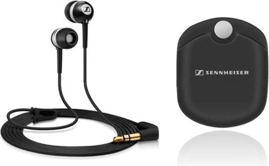 Sennheiser EC300i - In-ear oordopjes - Zwart