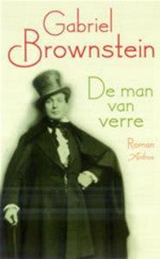 Cover van het boek 'De man van verre' van Gabriel Brownstein