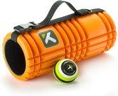 TriggerPoint Performance Mobility Pack | met de Originele TriggerPoint GRID Foam Roller 33cm (oranje), MB1 Massage Ball, en GRID Strap | Foamroller, fitness roller, massage roller, yoga, pilates, revalidatie,