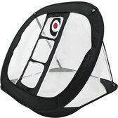 Firsttee - Chippingnet - 3 gaten - GRATIS Opbergtas - Hoogwaardig KWALITEIT - Golf net - Oefennet - Chipping - Golf accessoires - Cadeau - Golftrainingsmateriaal - Golfballen - Golfnetten - Golfnet voor in de tuin - Swing - Training - Sport - Trainer