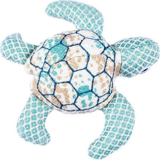 Resploot Karetschildpad - Duurzaam Hondenspeelgoed - 22 X 24 X 6 cm Assorti