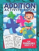 Addition Activity Book For Toddlers Ages 3-6