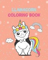 llamacorn coloring book