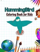 Hummingbird Coloring Book for Kids