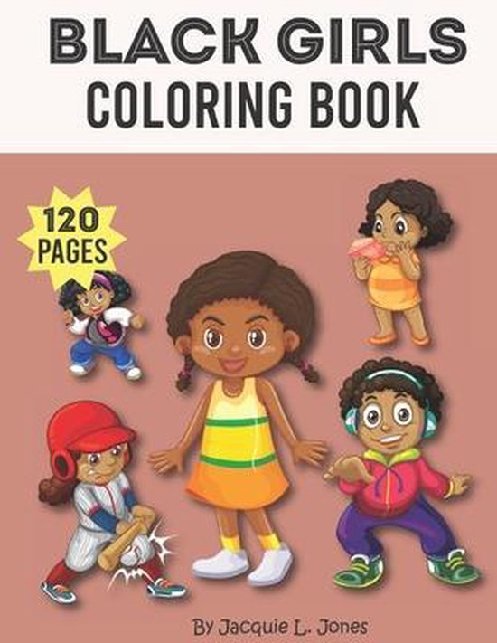 Black Girls Coloring Book