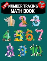 Number Tracing Math Book Age 3+