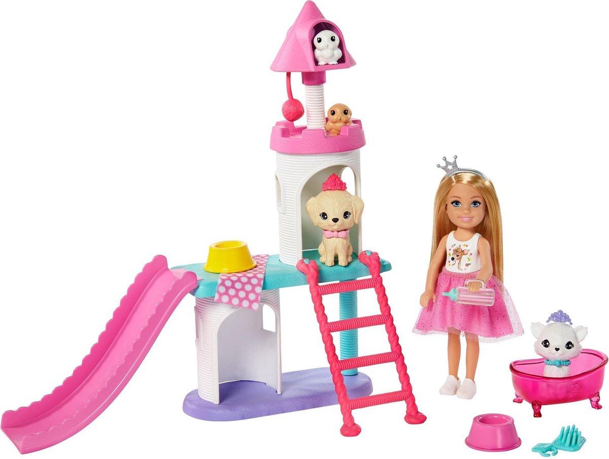 Barbie Princess Adventure Chelsea Dierenspeelset