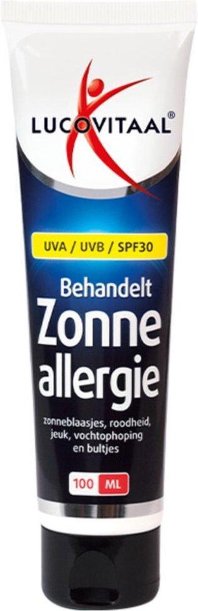 Lucovitaal Zonneallergie - 100 ml - Zonnebrand crème