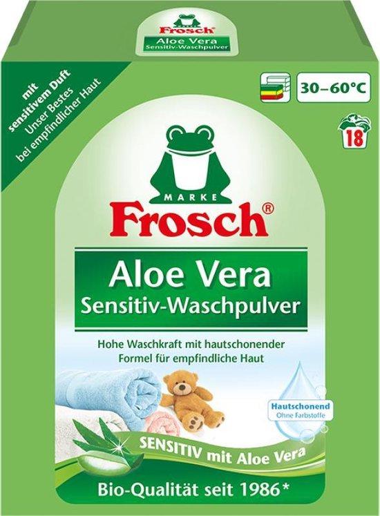 Frosch Aloe Vera Sensitiv-Waspoeder - ECO - 1,35 kg