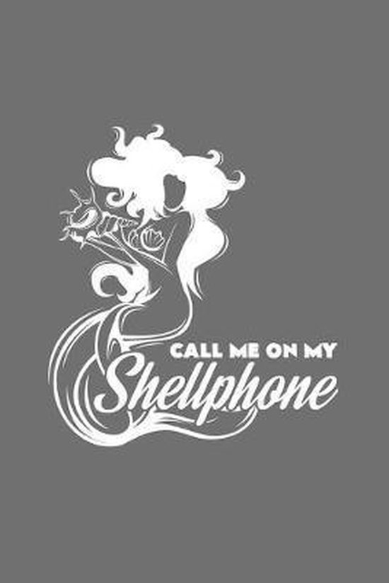 Call me on my shellphone: 6x9 Mermaids - dotgrid - dot grid paper - notebook - notes