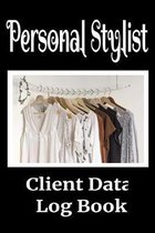 Personal Stylist Client Data Log Book: 6 x 9 Professional Stylist Client Tracking Address & Appointment Book with A to Z Alphabetic Tabs to Record Per