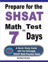 Prepare for the SHSAT Math Test in 7 Days
