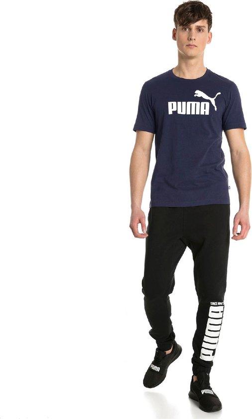 PUMA Essential Logo Heren T-Shirt - Maat L