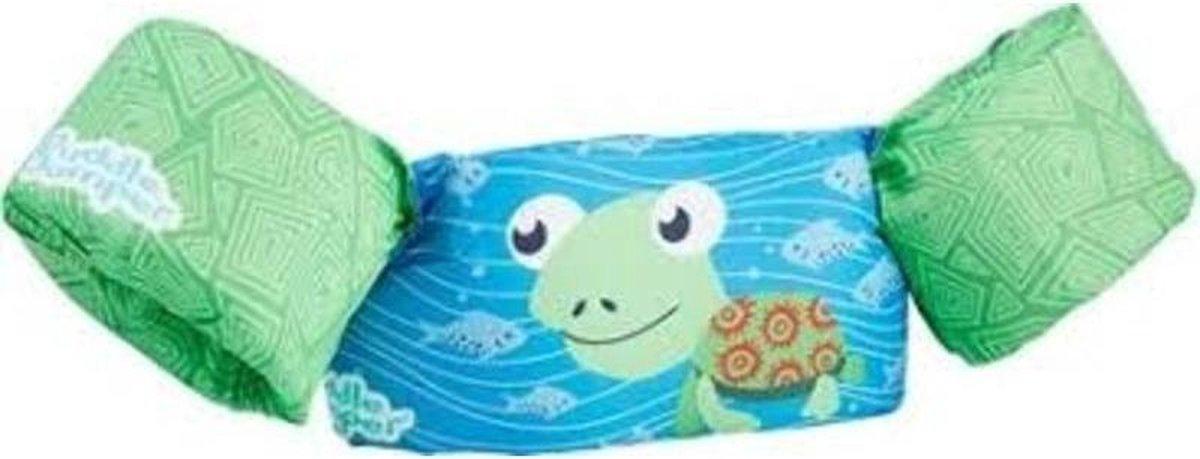 Sevylor Puddle Jumper schildpad | Zwemvest kinderen | zwembad | zwemmouwen | 15 - 30 kg | zwemveiligheid | kindervest | uniseks | dieren