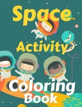 Space Activity Coloring Book