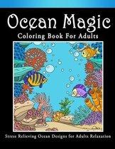 Ocean Magic Coloring Book For Adult
