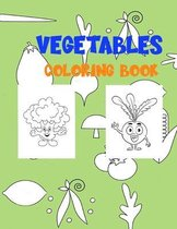 Vegetables Coloring Book