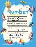 Number Tracing Book for Preschoolers and Kids Ages 3-5 Math Activity Book
