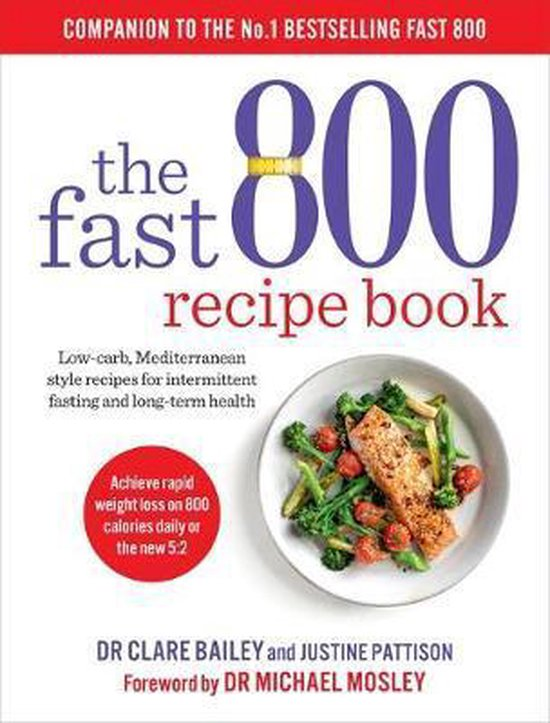 Boek cover The Fast 800 Recipe Book van Dr Clare Bailey (Paperback)