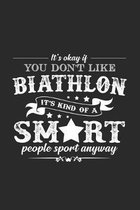 Biathlon sport: 6x9 Biathlon - dotgrid - dot grid paper - notebook - notes