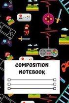 Composition Notebook: Composition Notebook