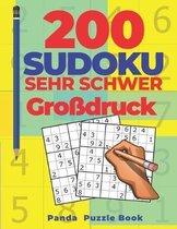 200 Sudoku Sehr Schwer Grossdruck