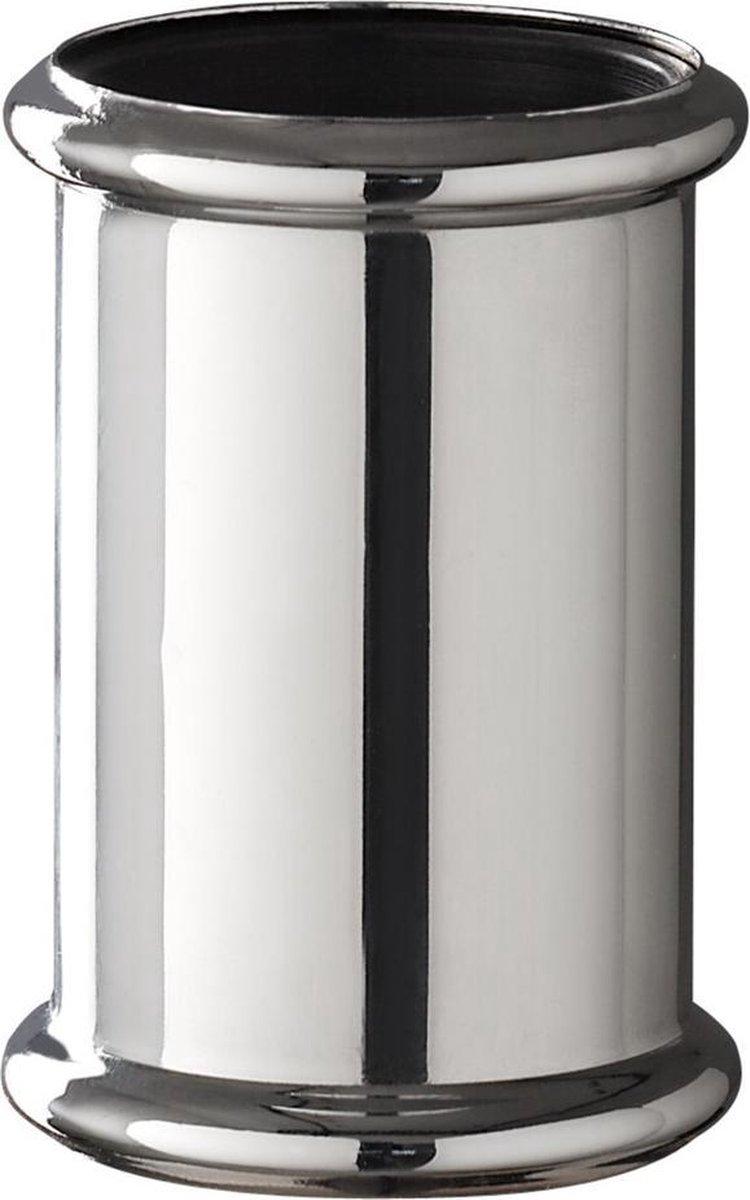 Sub chroom koppelstuk 32 mm tbv vloerbuis