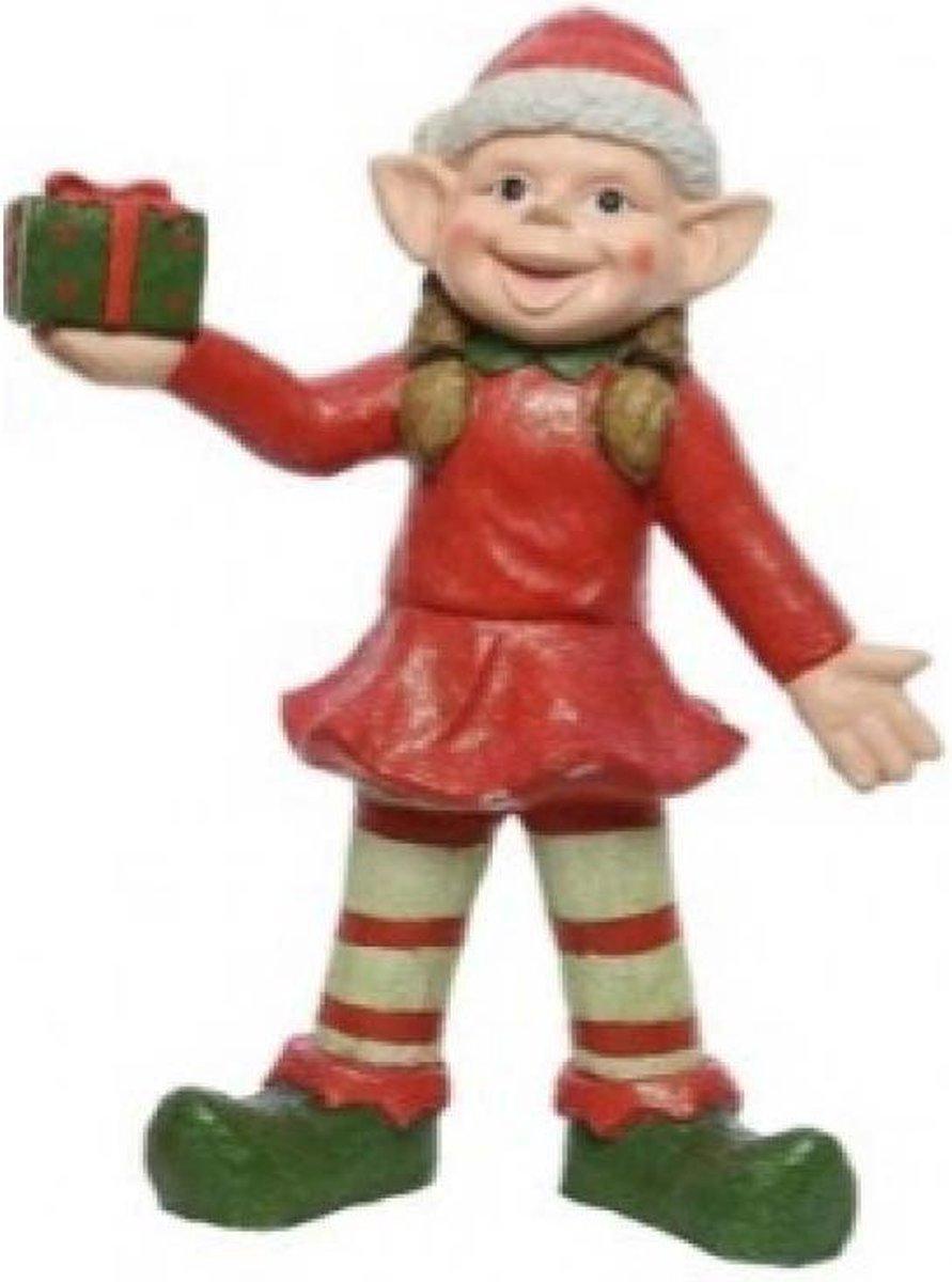 Kerst helper elf trol meisje