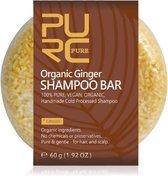 Organic Ginger Shampoo Bar 60g - gember - vegan en geen chemicalen