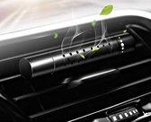Auto Luchtverfrisser Luxe Design  - Auto verfrisser - Hervulbaar - Auto Luchtje - Zwart - Luchtverfrisser Navulbaar
