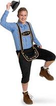 Lederhosen Zwart Heren Maat M/L - Verkleedkleding