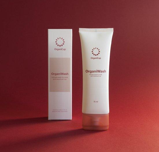 Organicup OrganiWash Sterilisator - cleanser voor je menstruatiecup - 75ml