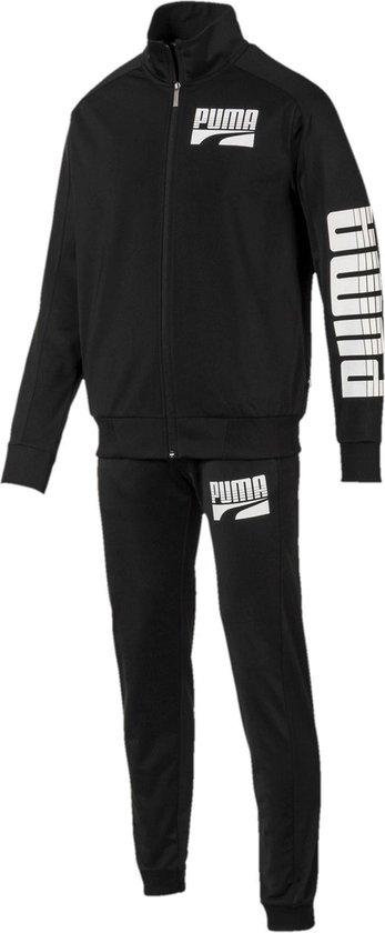 bol.com   Puma Trainingspak - Maat XL - Mannen - zwart/wit