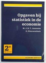Boek cover Opgaven bij statistiek in de economie 1 van Janssens M.J.B.T.