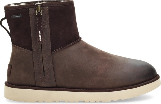 UGG Classic Mini Zip Waterproof Heren Laarzen - Stout - Maat 46