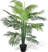 Kunstplant Phoenix palmboom met Pot 130 cm