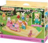 NIEUW: Sylvanian Families 5320  BABY CHOO-CHOO TREIN- Speelfigurenset                - Speelfigurenset