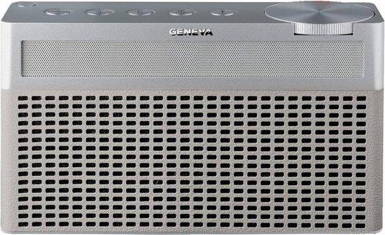 Geneva Hifi-Sound Touring S - Draagbare Bluetooth Speaker - Dab+ Radio - Wit