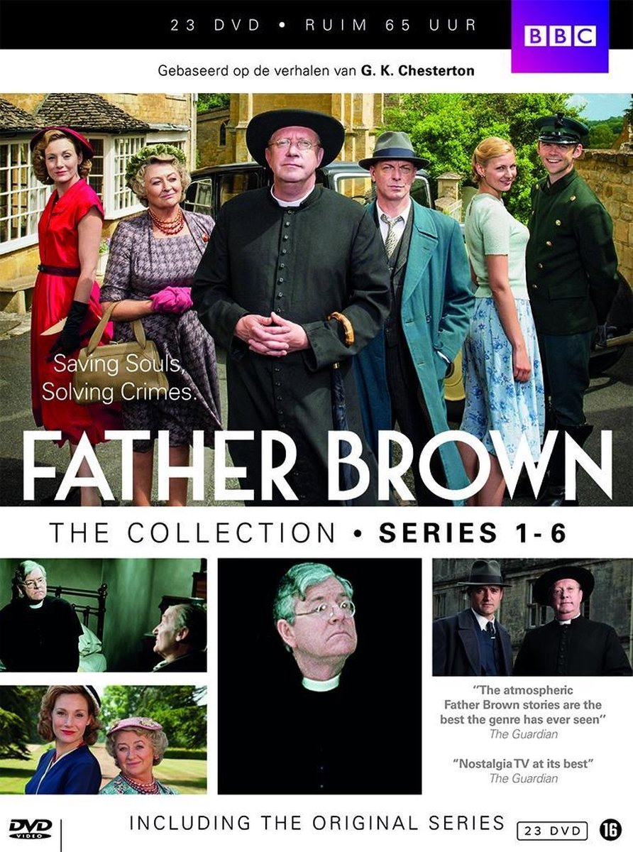 Father Brown Collection 1-6 Box  (i - 23 Dvd Megapack