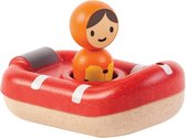 Plan Toys Houten Reddingsboot - badspeeltje - duurzaam