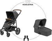 Koelstra Binque Daily Combi Kinderwagen - Denim Black