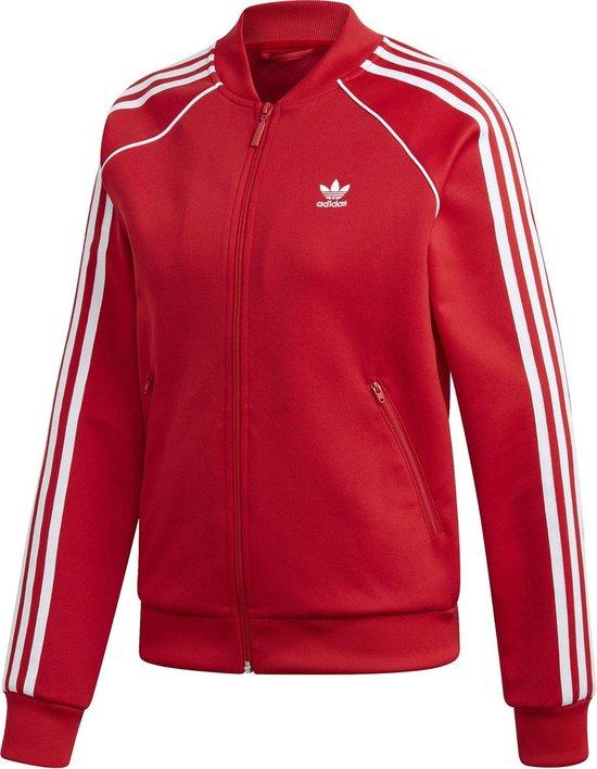 bol.com | adidas SST TT Dames Sportjas - Scarlet - Maat 36