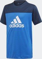 adidas Equipment Jongens Sportshirt - Blue/Collegiate Navy/White - Maat 140