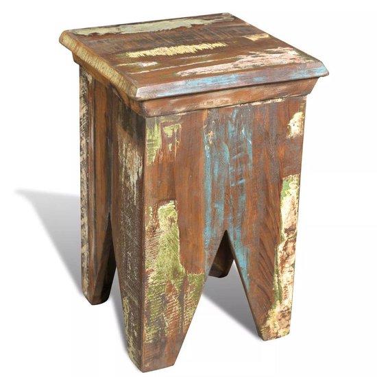 vidaXL - Recycled - Kruk - hout