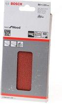 Bosch Schuurvel wood and paint 80 x 133mm K60 blister van 10 vellen