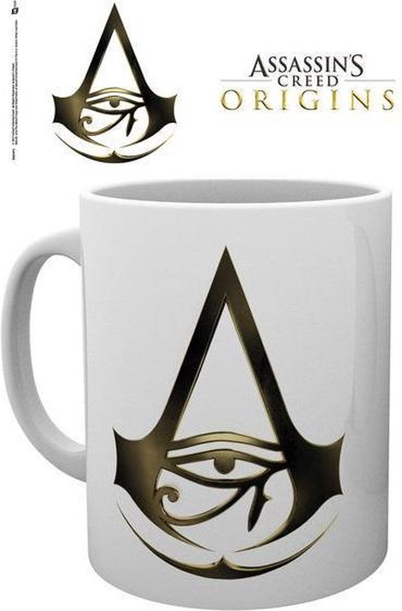 ASSASSIN'S CREED ORIGINS - Mug - 300 ml - Logo - Assassin's Creed