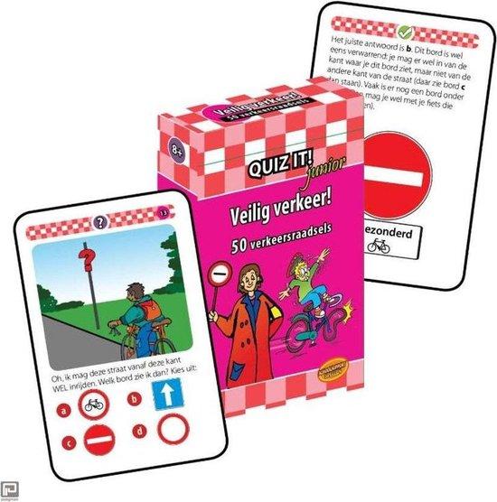 Quiz it - Quiz it junior Veilig verkeer